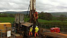 Compressed Air Energy Storage (CAES) rig in Larne, Northern Ireland