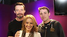 Hugh Jackman plays Innuendo Bingo - hosted by Kylie Minogue