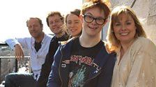 L-R: Iain Glen, Tony Bell, Joanna Horton, Daniel Laurie, Heather Craney