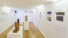 Installation view of Walerian Borowczyk: The Listening Eye exhibition