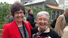 Mum and me: From Nova Scotia niece Barbara Phillips Conroy and aunt Carolyn McGowan on their favourites at Chelsea