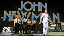 John Newman at Radio 1's Big Weekend 2014