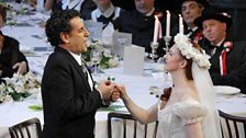 Juan Diego Florez as Elvino and Patrizia Ciofi as Amina