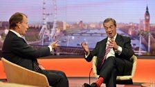 Nigel Farage, 1st June 2014