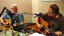 John Conolly and Rob Van Sante playing live at BBC Leeds