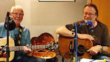 John Conolly and Rob Van Sante at BBC Leeds