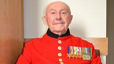 Veteran Roy Cadman, who chose Dame Vera Lynn's 'The White Cliffs Of Dover' as his Forces Favourite