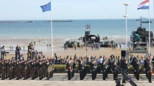 Commemorating the 70th anniversary of D-Day