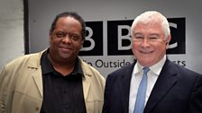 Composer and musician Julian Joseph (Ten Pieces Ambasador) talks to Sean Rafferty. Photo by Mark Allan/BBC