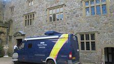 BBC Wales Van