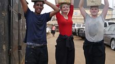 Muj, Kaleigh and Sean put to the test in the slums of Lagos