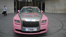 The FAB 'Lady Penelope' pink Rolls-Royce Ghost