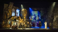 A scene from Berlioz's Benvenuto Cellini