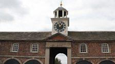 The clock tower at Dunham Massey