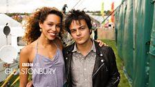 Izzy Bizu and Jamie Cullum at Glastonbury 2014