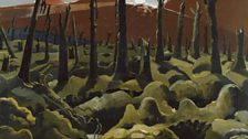 Paul Nash - We Are Making a New World (1918)