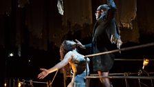 Kirstin Chavez as Marquise de Merteuil, Leigh Melrose as Vicomte de Valmont
