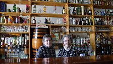 Nan and Patricia Brennan say Bundoran's decline began when the railway closed in 1957, but surfers offer the town new hope.