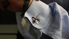 Dragonfly cufflinks