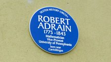 Robert Adrain Plaque