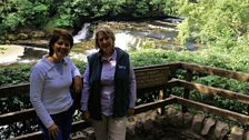 Helen meets Cathy Bergs from the Yorkshire Dales National Park
