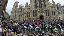 Stage two in York, Tour De France 2014