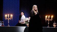 Roberto Sacca as Bacchus and Karita Mattila as Ariadne
