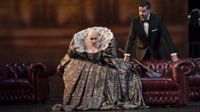 Carmen Giannattasio as Elisabetta I, Jeremy Carpenter as Guglielmo Cecil