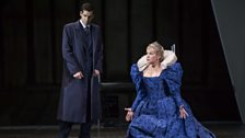 Ismael Jordi as Conte di Leicester and Joyce DiDonato as Maria Stuarda