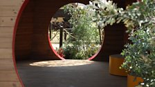 This garden takes inspiration from the Rainbow Serpent