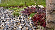 This garden tells the story of the Thetford Flintknapper