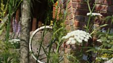 The garden explores the history of Macmillan Cancer Support