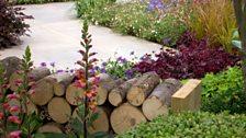 This garden celebrates the 50th anniversary of Squire's Garden Centre in Twickenham