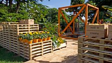 The World Vision Garden, designed by John Warland