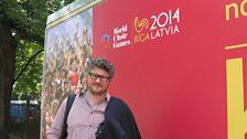 Tom Service visits Riga 2014