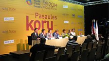 Press conference for the World Choir Games
