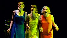 Juice Vocal Ensemble perform Luke Styles' 'The Girls Who Wished to Marry Stars' at the New Music Biennial