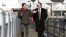 Michael meets Professor Ian Beckett