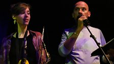 Brassy B's Alice Tully with Jez Nelson