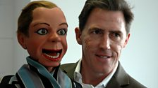 Archie Andrews and Rob Brydon