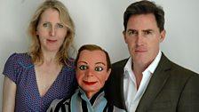 Fenella Woolgar, Archie Andrews and Rob Brydon