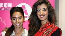 Scottish Bangladeshi make-up artist Saleema Ali