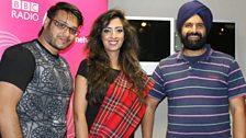 Fashion show choregorapher Nadim Salim and Scot Asia's Gurjit Singh
