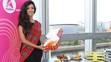 Noreen celebrates Eid with mithai
