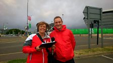 An excited Great Yarmouth father at the Commonwealth Games