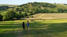 Ready for baling; Courtesy of Steve Wright, near Appletreewick, Wharfedale, Yorkshire