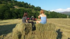 The baler broke! Time for a rest: Courtesy of Steve Wright, Wharfedale near Appletreewick, Yorkshire