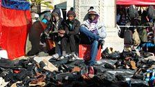 Shoe sellers in Grahamstown