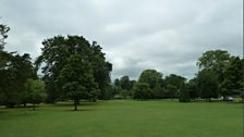 The Park surrounding the Pittville Pump Room