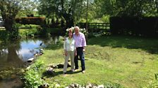 Helen meets Simon Cooper in his garden in Middle Wallop, Hampshire
